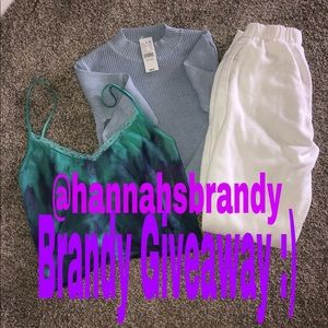 brandy melville giveaway